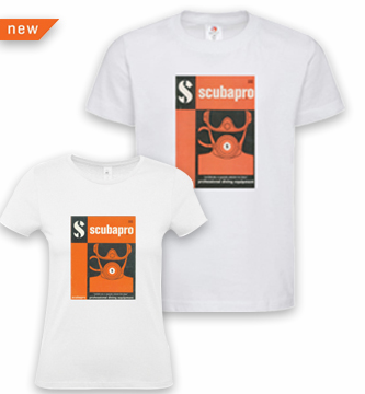 T-Shirt 1963 Retro Scubapro