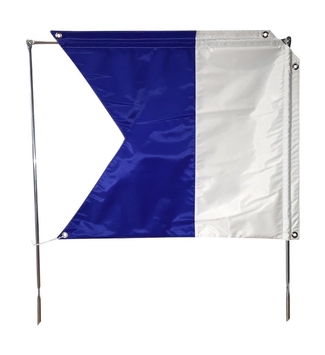 Alpha Flagge für Apnea Boje, Scubapro