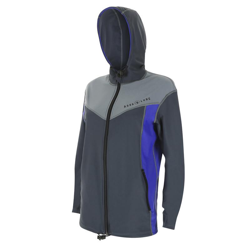 Aqua Lung Rashguard Jacke mit Kaputze UV 50