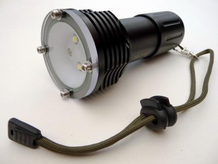 Videolampe mit Rotlicht (D32), Riff